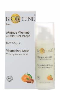 "<FONT color=""palevioletred""><B>Masque Vitaminé (acide hyaluronique) 77% BIO*-Airless 50ml</FONT></B>"