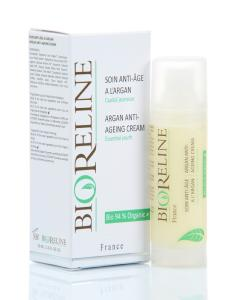 "<FONT color=""mediumseagreen""><B>Soin Anti-Age à l'Argan 94 % BIO* - Airless 30ml</FONT></B>"