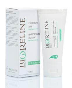 "<FONT color=""mediumseagreen""><B>Soin Exfoliant Doux (sans rinçage) 89 % BIO* - Airless 50ml</FONT>"
